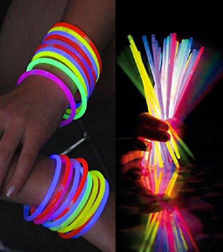 Mondial-Fete - 100 Bracelets Fluo Assortis