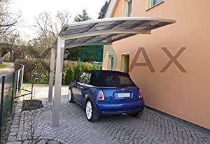 Ximax Carport Portoforte Typ 60 bronze 495 x 270 cm