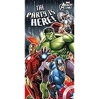 Marvel Avengers Set bestehend aus 4Spiralen als Decken-Dekorationen Ultron 70cm, multi, Plastic Door Poster (76cm x 152cm)