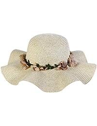 f31405cad3b3b Vectry Sombrero Paja Mujer Sombreros De Paja Sombrero De Sol Sombrero De Paja  Mujer Sombrero Pirata