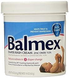 Balmex Diaper Rash Cream 16-Ounce Jars