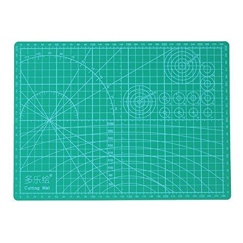 MASUNN A4 Découpage Mat Double Face Non Slip Imprimé Grille De Qualité Coupe De Soudure De La Pratique Board 22Cm * 30Cm