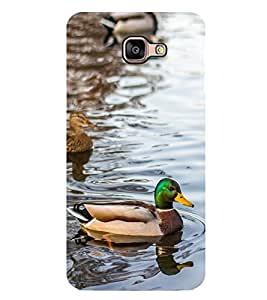 Vizagbeats Coloured Duck Back Case Cover For Samsung Galaxy A9
