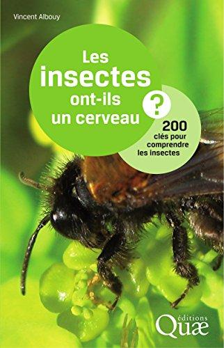 Livres Les insectes ont-ils un cerveau ?: 200 clés pour comprendre les insectes epub, pdf