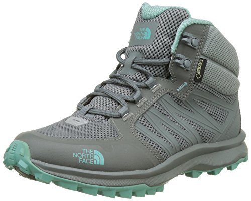 #The North Face Damen Litewave Fastpack Mid Gore-Tex Trekking-& Wanderschuhe, Grau (Grey), 40.5 EU#