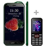 【2 téléphones Mobiles】 Smartphone Pas Cher v·mobile X6, 8.0MP Caméra 5,0...