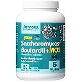 Jarrow Formulas, Saccharomyces Boulardii + MOS, 180 Capsules Végétales