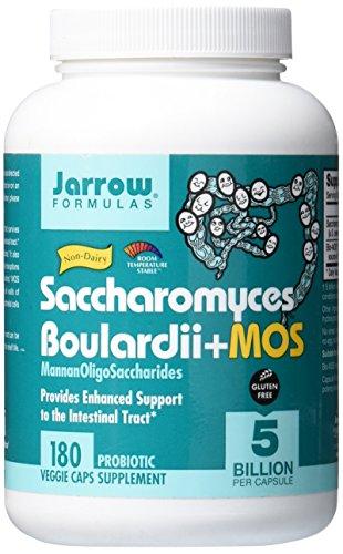 Saccharomyces Boulardii + MOS, 180 Capsules - Jarrow Formulas