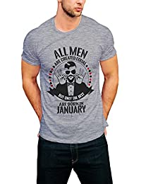 PRINT OPERA Latest And Stylish Men's Round Neck T-Shirt Black, White, Grey Melange And Navy Blue Color-Best Men...