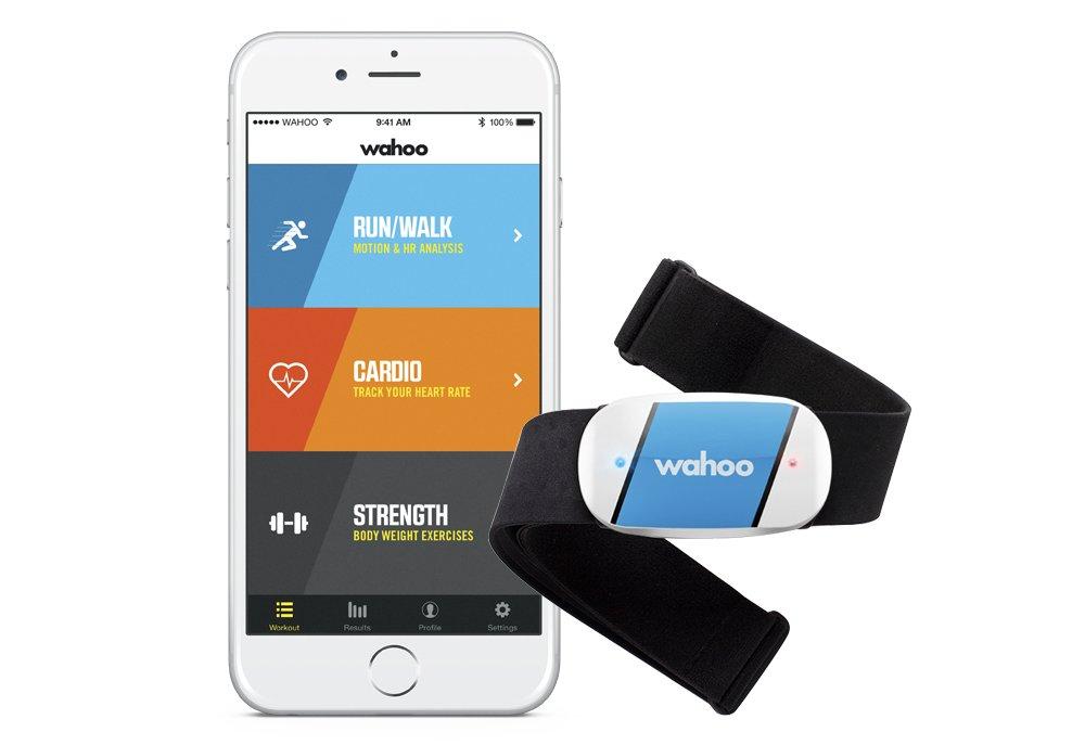 51t jrkHADL - Wahoo TICKR Heart Rate Monitor, Bluetooth / ANT+