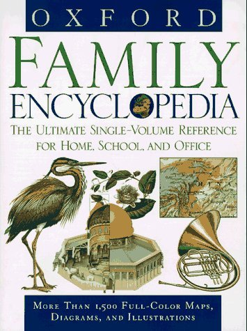 Oxford Family Encyclopedia: The Ultimate Single-Volume Reference for Home, School and Office by Oxford University Press (1997-10-23) (Home-office-single)