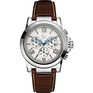 Gc Men's B2 Class Stainless Steel Chronograph Watch- X41003G1