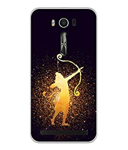 PrintVisa Designer Back Case Cover for Asus Zenfone 2 Laser ZE500KL (5 Inches) (Ram Rama Ganesh Ganapati Krishna Srikrishna Kisna Kanayya Kanaiyah Mohana)