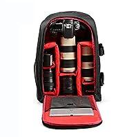Grande CapacitéDimensions externes 31 x 46 x 14 cm, dimensions internes 28 x 42 x 11cm. Il peut contenir un appareil photo reflex numérique (Canon, Nikon, Sony, Olympus, Pentax et autres reflex), des caméras gopro, des flashs professionnels, des obje...