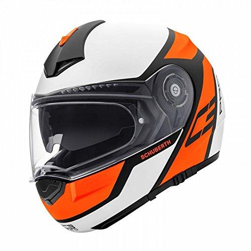 Preisvergleich Produktbild Schuberth C3 Pro Echo Orange - Motorrad Klapphelm, 55 S