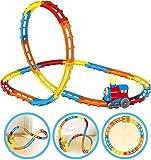 Brigamo ➰ Thomas & Seine Freunde Eisenbahn Zug Rennbahn mit Looping, Spielbahn für Kleinkinder ➰