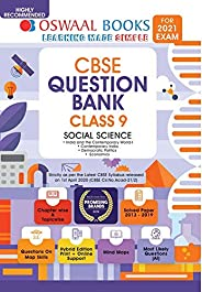 Oswaal CBSE Question Bank Class 9 Social Science Book Chapterwise & Topicwise Includes Objective Types &am