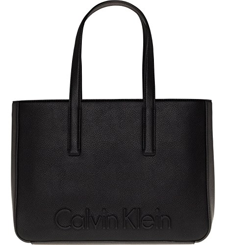 Medium Damen Schwarz 1atrtq Klein Handtasche Edge Calvin Y6gfyb7