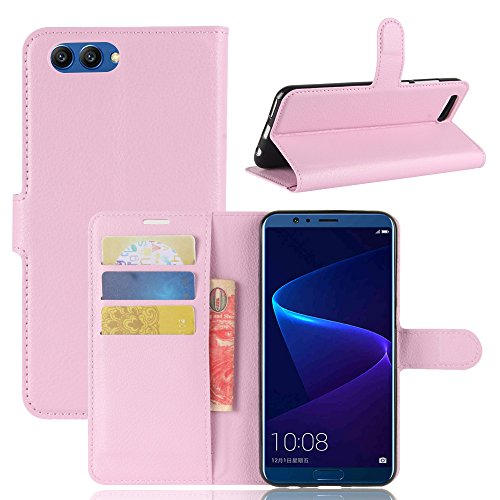 Huawei Honor V10 Durable Protective Case Protective skin Casefirst Protective Skin Double Layer Bumper Shell Shockproof Impact Defender Protective Case Durable Protective Case for Huawei Honor V10 , Pink (Facetime Wi)