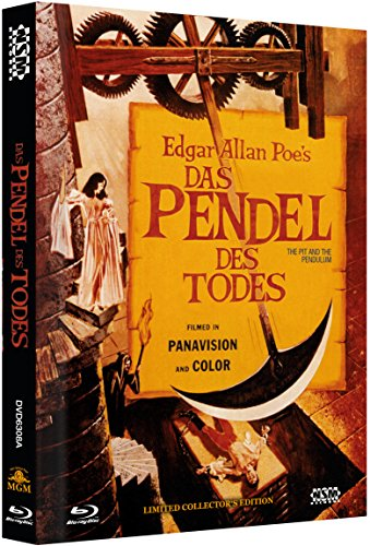 Das Pendel des Todes - uncut [Blu-Ray+DVD] auf 500 limitiertes Mediabook Cover A [Limited Collector's Edition]