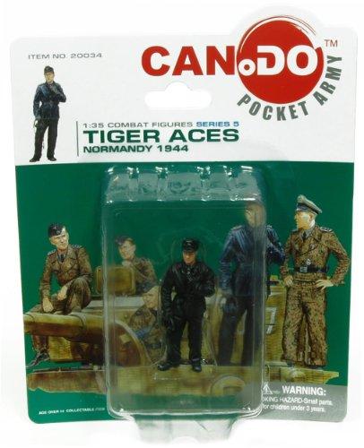 1:35 Combat Figure Series 5 Tiger Aces Normandy 1944 Figure D Wittmann (35 Serie)
