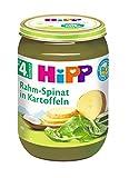HiPP Rahm-Spinat mit Kartoffeln, 6er Pack (6 x 190 g)