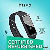 (Renewed) Synqs Ativo - Fitness Band with OLED Display and Touch