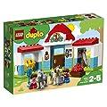 LEGO UK 10868 DUPLO Farm Pony Stable Toddler Toy