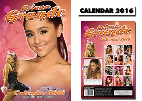Ariana Grande Calendario.Ariana Grande 2016 Calendario Calendar Ariana Grande Iman
