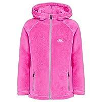 Trespass Girls Lysle Fleece Jacket Fuchsia 7-8