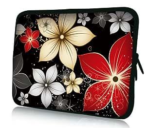wortek Notebooktasche aus Neopren in 10.2 Zoll / 13,3 Zoll / 15,4 Zoll / 17,3 Zoll - verschiedene Design