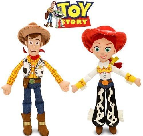 (Disney Toy Story Woody and Jessie Doll Set by Disney)
