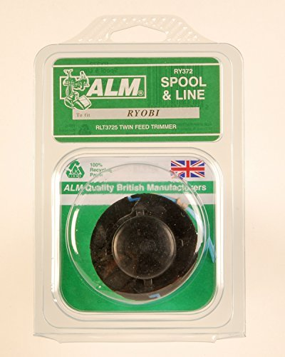 5-x-alm-ry372-spool-and-line-ideal-for-champion-powerbase-ryobi-titan-tesco-draper-cougar-silverline