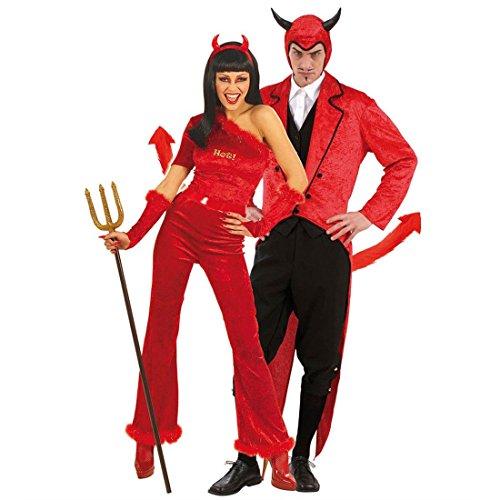 Luzifer Kostüm - NET TOYS Teufel Schwanz rot Teufelsschwanz Teufel Zubehör Kostüm Accessoire Luzifer Teufelschwanz Fasching Karneval