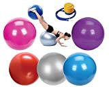 Ever Rich ® Gymnastique Yoga Ballon Suisse Fitness Ballon de grossesse 65cm + pompe