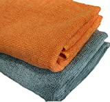 #2: Sobby Microfiber Cleaning Cloths 2 In 1 Combo For Car Care