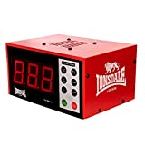 Lonsdale Digital Electronic Gym Timer–Red