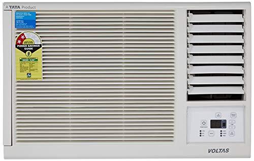 Voltas 1 Ton 2 Star Window AC  Copper, WAC_122_LZF, White  Air Conditioners