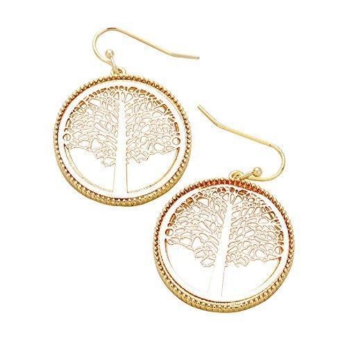 rosemarie-collezioni-da-donna-in-due-tonalita-in-metallo-a-forma-di-albero-della-vita-orecchini-oro-