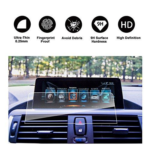 RUIYA Gehärtetes Glas Ultra-klar Hartglas Displayschutzfolie für das Navigationssystem von 2012-2017 BMW 3er/3er GT/M3 und 2013-2017 BMW 4er/M4 GTS/4er Gran Coupé [8.8 zoll] Glas-coupe