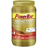 Powerbar Isoactive Isotonisches Sportgetränk (5 Elektrolyte und C2max Dual Source Carb Mix) Red Fruit Punch, 1.320g
