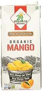 24 Mantra Organic Mango Juice, 1 Liter