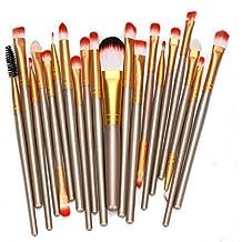 LHWY 10PC/Set Herramientas de Maquillaje Neceser Kit Lana Hacer Arriba Cepillo Conjunto