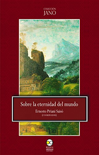 Sobre la eternidad del mundo (Colección Jano n 2)