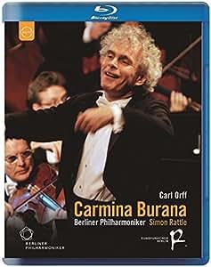 Carmina Burana: Berlin Philharmonic Orchestra [Blu-ray] [2013] [Region Free]