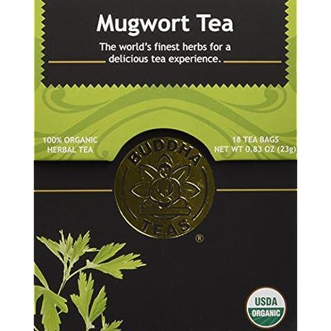Bustine di tè 18 - 100% organico dell'Artemisia tisana - di Buddha Teas