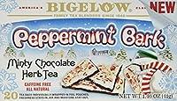 Bigelow Peppermint Bark minty chocolate herb tea - New