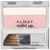 Almay Wake Up Blush and Highlighter, Pink Rose, 0.16 Ounce by Almay
