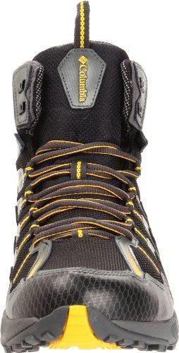Columbia, Herren Trekking- & Wanderstiefel Black/Yellow