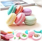 6 PCS mini nette Macarons Aufbewahrungsbehälter-Kasten Covermason Tasche Tragetasche